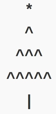 Christmas Tree Text Emoticons | ASCII Art | Scoop.it