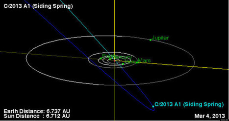 Newfound Comet May Smash Into Neighboring Planet | READ WHAT I READ | Scoop.it