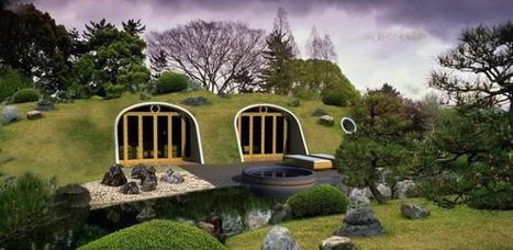 Des modules préfabriqués pour maison semi-enterrée en Colombie | architecture verte | Scoop.it