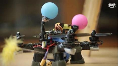Crean la primera abeja robótica que poliniza como una real   Educación y Biblioteca con TIC´s   Scoop.it