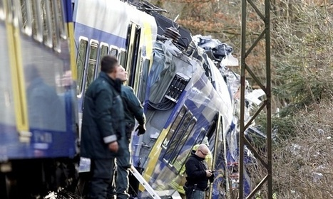 Black boxes recovered from site of German train crash that killed 10 | Railway's derailments and accidents | Scoop.it