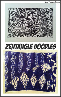 Your Therapy Source - www.YourTherapySource.com: Zentangle ... | Zen | Scoop.it