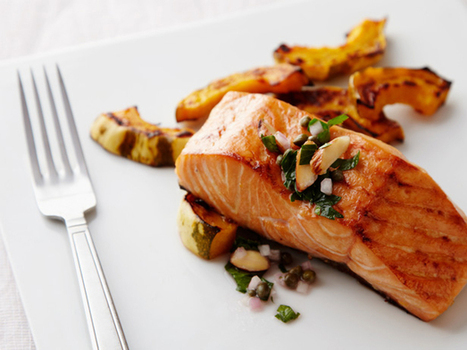 #HealthyRecipe / Oven-Baked Salmon Recipe | Healthy Cooking and Eating | Scoop.it