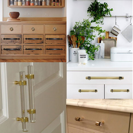 Re-Creating the Perfect Kitchen with Brass Lucite Hardware | SignatureThings Blogs - Home Decorating Ideas | Scoop.it