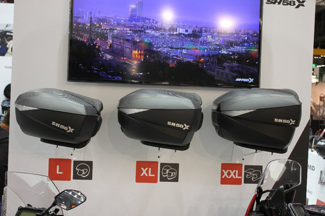 News from Milan - the fantastic expandable topbox! | Motorcycle Racing | Scoop.it