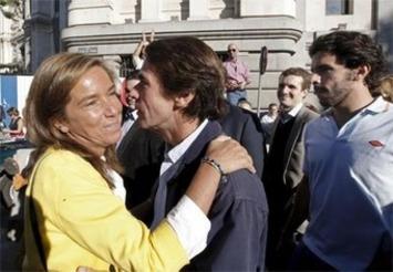 La vieja guardia de Aznar se manifiesta contra el aborto | Partido Popular, una visión crítica | Scoop.it