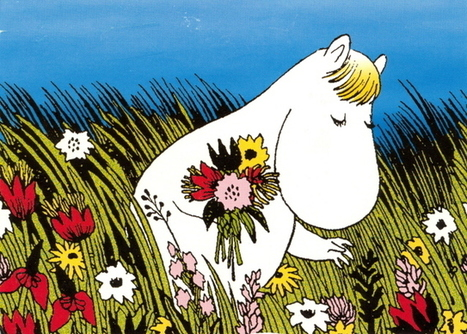 finland-moomin-picking-flowers.jpg (639x457 pixels) | Finland | Scoop.it