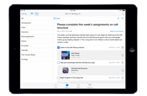 iTunes U update will bring course creation and student discussion to iPad app | 1:1 iPads in the 5th grade classroom | Scoop.it