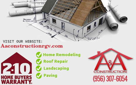 Home Remodeling & Roof Repair in McAlle | A&A Construction | Scoop.it