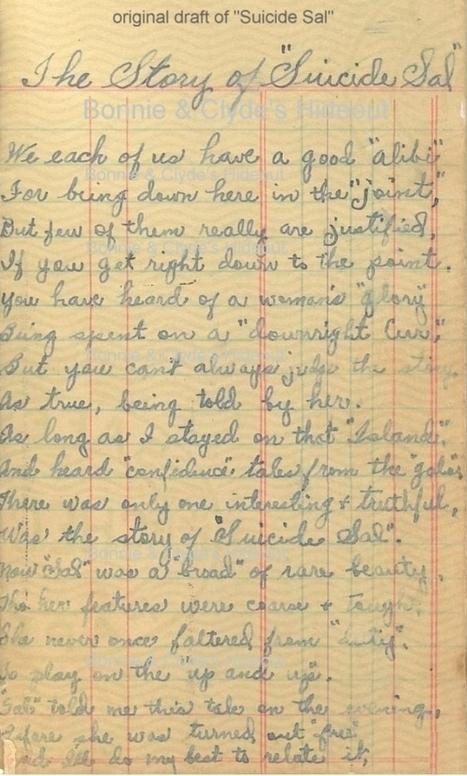 Bonnie Parker's poems   1930's Crime   Scoop.it