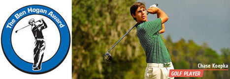 The Latest about Sophomore Golf Player Chase Koepka | Golf News and Reviews | Scoop.it