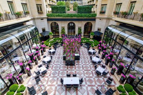 On a testé L'Orangerie, la nouvelle table gastronomique intimiste du Four Seasons George V | Yonder | Gastronomie Française 2.0 | Scoop.it
