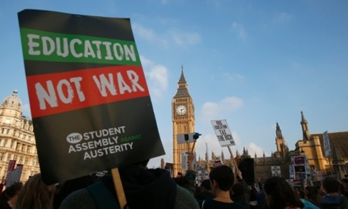Students are right to march against the markets. Why can't education be free? | David Graeber | real utopias | Scoop.it