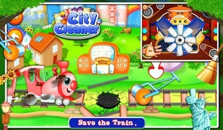 City Cleaner Kids Game - Free to Download   Android Free Games   Scoop.it