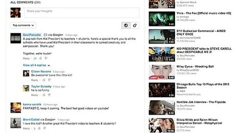 YouTube teams up with Google+ to turn comments into conversations - Engadget | Video Curation | Scoop.it