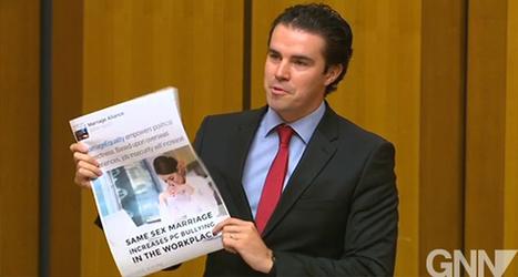 Labor MP Tim Watts slams Marriage Alliance 'rainbow noose' campaign | Gay News | Scoop.it
