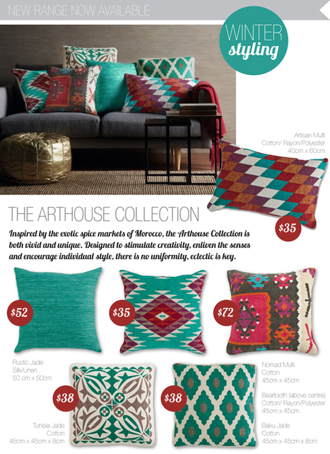 Cushion Spot: MOROCCAN INSPIRED CUSHIONS HAVE ARRIVED! | Designer Cushions | Scoop.it