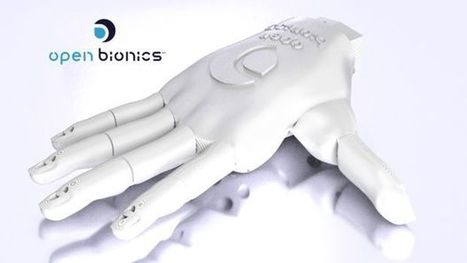 Ada Robotic Hand - Open Bionics | Open Source Hardware News | Scoop.it