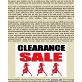 Tips to Get the Best Clearance Sal   Online Shopping   Scoop.it