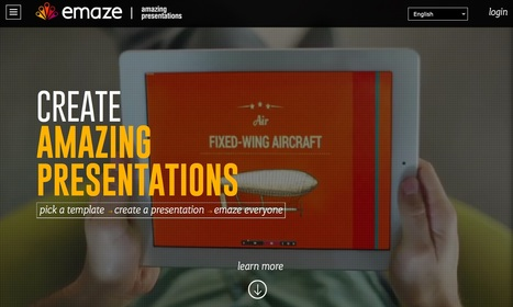 emaze - Online Presentation Software – Create Amazing Presentations | Create: 2.0 Tools... and ESL | Scoop.it