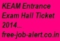 KEAM Admit card Download 2014 www.cee.kerala.gov.in Hall ticket exam syllabus | FREEJOBALERT | Scoop.it