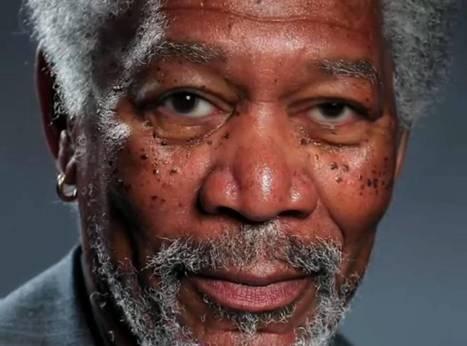 Morgan Freeman portrait: The world's most realistic finger painting? | CNS business studies | Scoop.it