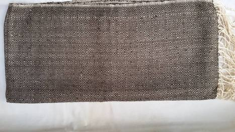 fair trade Cambodia. Golden Silk Cocoon natural shawl scarf, ethically handwoven by disadvantaged women weavers in the community.Cambodia. | Natural Dyes Cotton Scarfs | Scoop.it