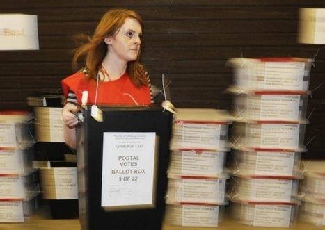 No prosecutions over referendum postal votes claims - Scotsman | My Scotland | Scoop.it