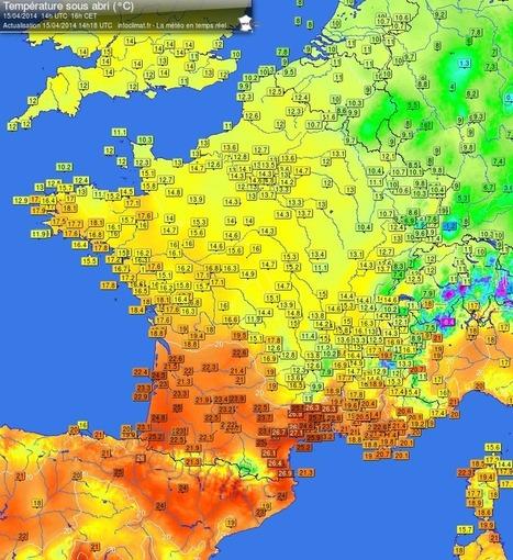 Joli contraste de températures - Regarder le ciel | Regarder le ciel | Scoop.it