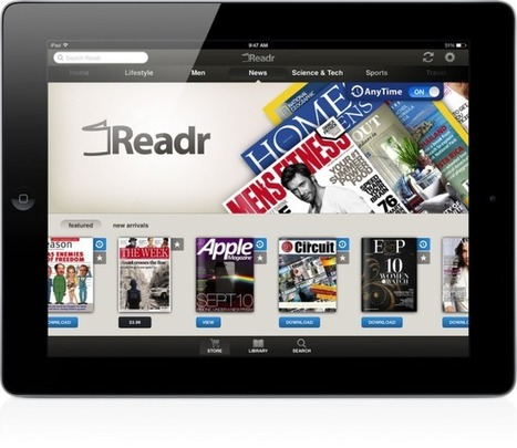 Should You Find Your Next Issue On Readr's Magazine App For iPad? - AppAdvice | MagCasting | Scoop.it