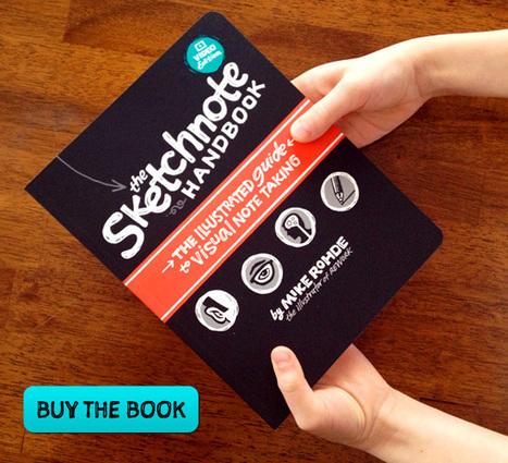The Sketchnote Handbook - Designer Mike Rohde | Nieuwtjesbrief UA | Scoop.it