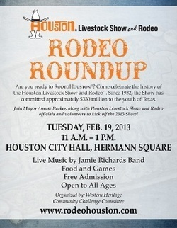 Rodeo Roundup Kicks Off 2013 Houston Rodeo February 19 | Rodeo | Scoop.it