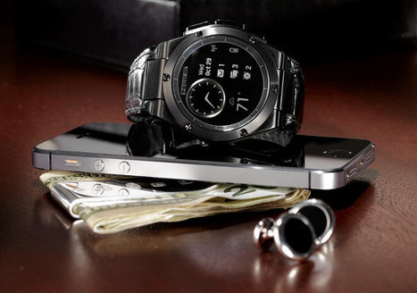 MB Chronowing : HP se lance dans les montres connectées avec Michael Bastian   Interactions Design, Innovations and Technologies   Scoop.it