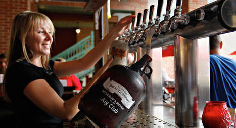 Growlers: The Hefty Bottles That Could Upend the Beer Industry - DailyFinance | Beer | Scoop.it