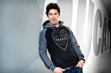 Nicky Hayden\Ducati Fashion Shoot   Facebook   Ductalk Ducati News   Scoop.it