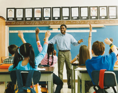 """""""I Teach For Seven Straight Hours In Stilletos And Never Stop Smiling""""—What Stock Photos Tell Us About Teaching 