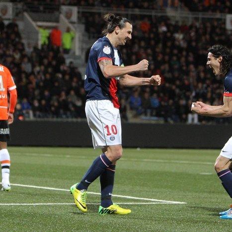 Zlatan Magic Enough for PSG in Lorient | Paris Saint Germain | Scoop.it