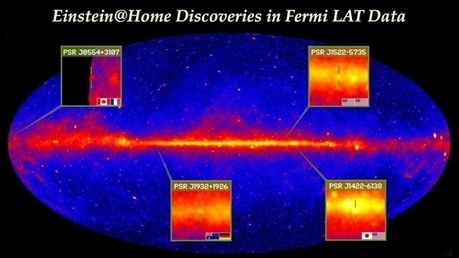 Einstein@Home: Home Computers Discover Gamma-Ray Pulsars | Amazing Science | Scoop.it