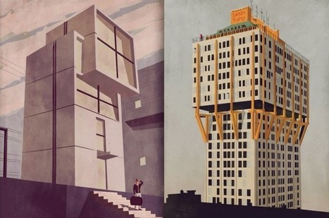 Architectural Illustrations by Giordano Poloni   Illustration et dessin   Scoop.it