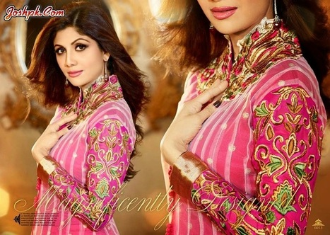 Shilpa Shetty Smart Look In Saheli Coutures Summer Collection 2014   joshpk   Scoop.it