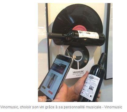 Vinomusic, des vins à déguster en fonction d'une playlist musicale | Gastronomie Française 2.0 | Scoop.it