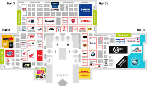 Motorcycle Live 2013 Floorplan | Motorcycle News | Scoop.it
