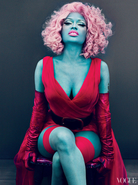 True Colors: Nicki Minaj - Magazine | Woman 2013 | Scoop.it