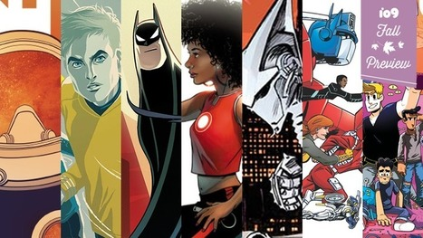 io9's Guide to the Overwhelming Amount of Awesome New Comics Coming This Fall | F_C | Scoop.it