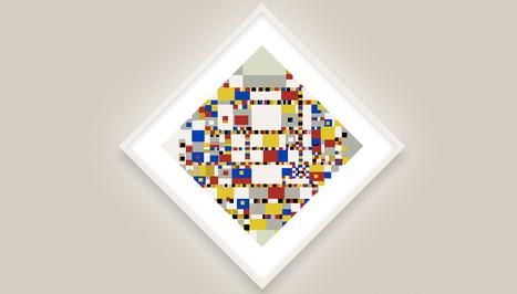 Mondriaan met algoritmes   FMT Cultuur   Scoop.it
