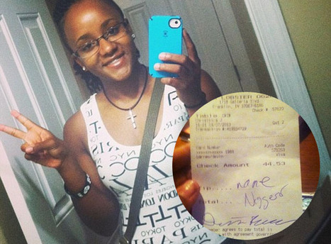 Waitress Finds 'None, N****r' Written As Her Tip From Racist Customers (IMAGE) - | Customer Care | Scoop.it