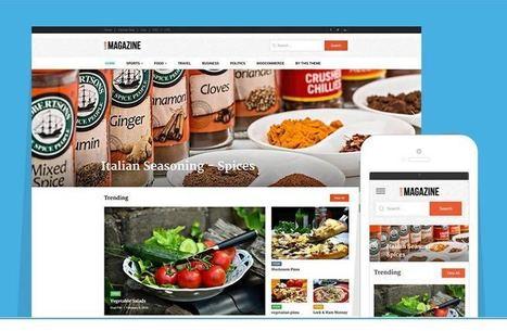 LiveMagazine WordPress Online Magazine Theme   Free Premium WordPress Themes   Scoop.it