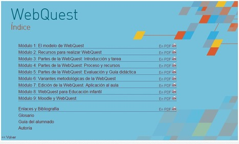 WebQuest, aplicaciones educativas | Educación Virtual UNET | Scoop.it