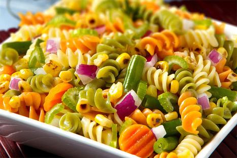 Delish Recipes: Fusilli Pasta Salad in light dressing (Pregnancy) | Delish Recipe | Scoop.it