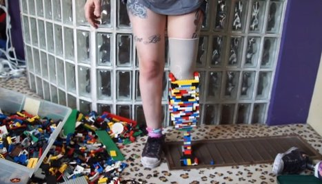 Christina Stephens, Amputee, Creates Prosthetic Leg From LEGO Pieces (VIDEO) - Huffington Post | Blackberry Castle Productions-Photography, inc. | Scoop.it